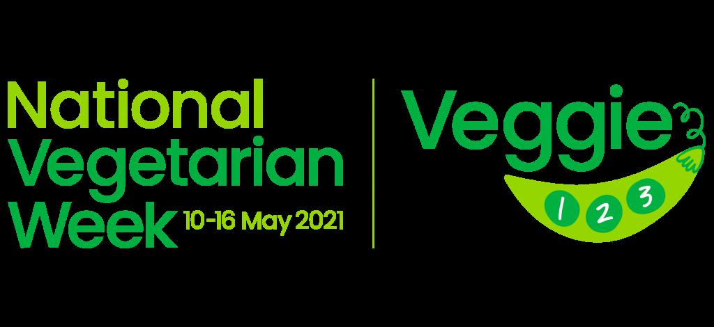 National Vegetarian Week 10-16 May - Veggie 1-2-3
