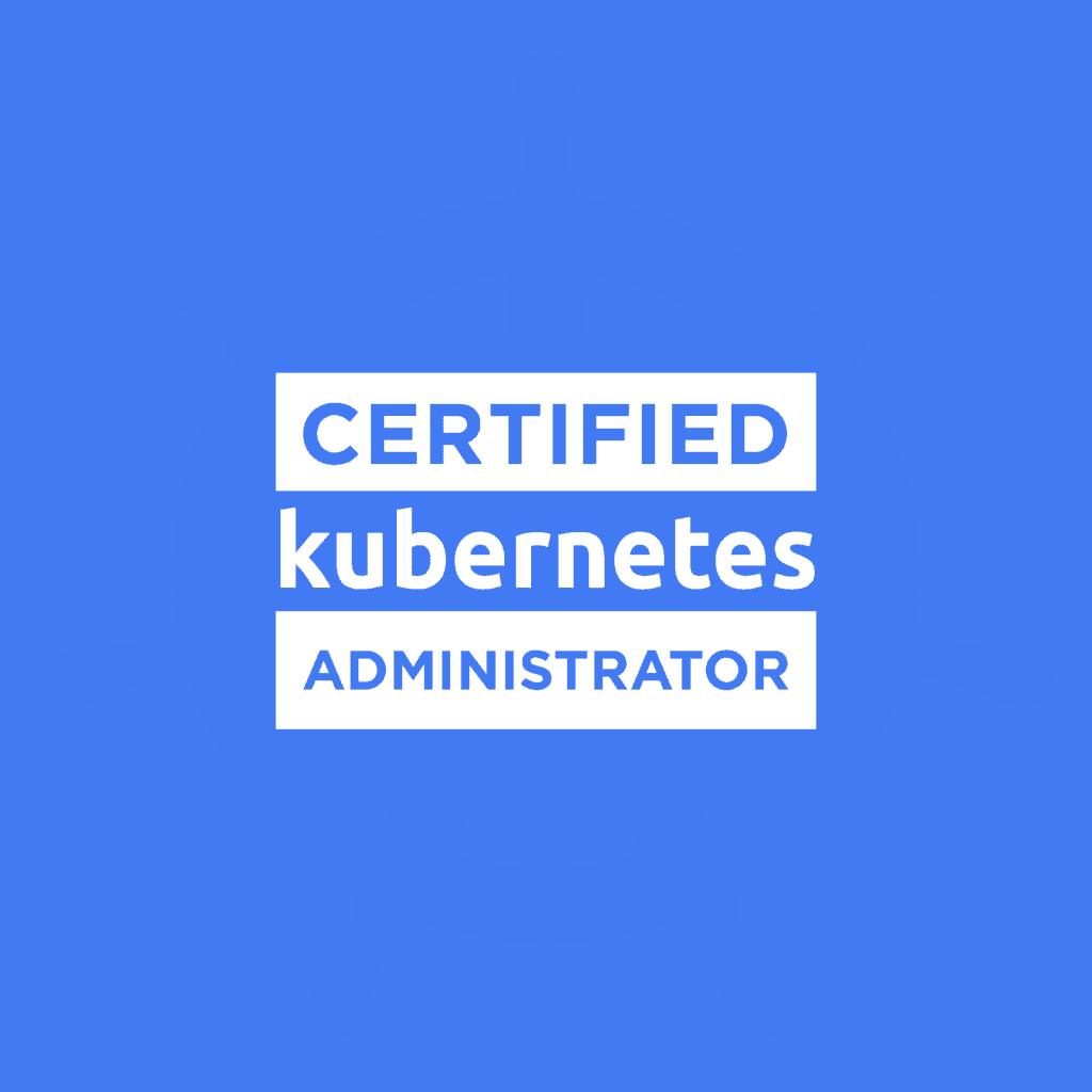 Certified Kubernetes Administrator logo