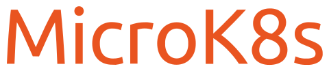 Logo for microk8s Kubernetes distribution from Canonical
