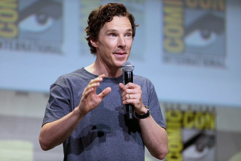 One of the most famous vegans Benedict Cumberbatch speaking at the 2016 San Diego Comic Con International